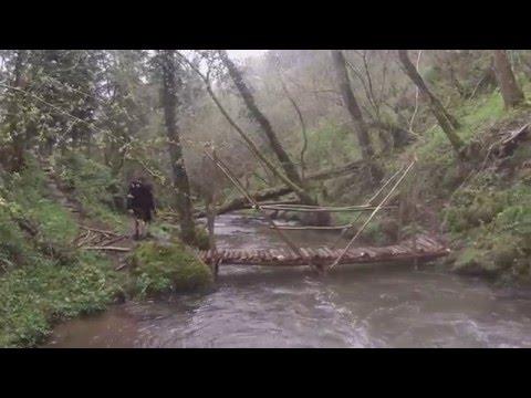 Time lapse construction d'un pont, Randol 2016 # Scouts d'Europe
