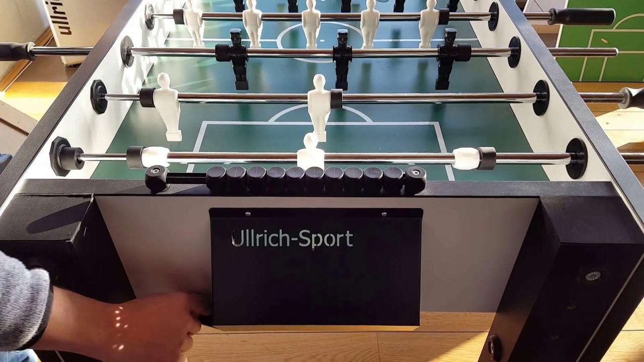 Tor f/ür Kickertisch Fu/ßballtor f/ür Tischfussball Ullrich-Sport Metalltor f/ür Tischkicker