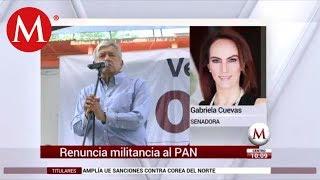 Entrevista a Gabriela Cuevas sobre su renuncia al PAN
