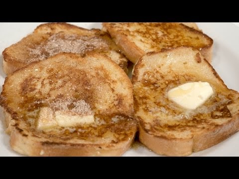 Cinnamon Sugar Toast - French Toast - In short: Panic Cakes