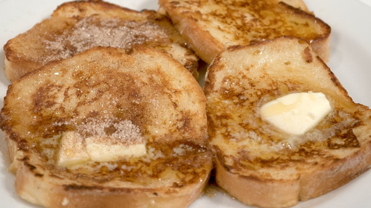 Cinnamon Sugar Toast  French Toast  In Short: Panic Cakes