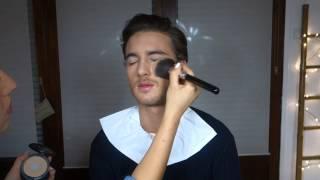 I TUTO I Maquillage TV homme (+ bêtisier)