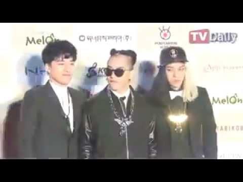 20120213 The Gaon Chart K-Pop Awards [Red Carpet] BIGBANG