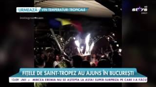 Fitele de Saint-Tropez au ajuns in Bucuresti