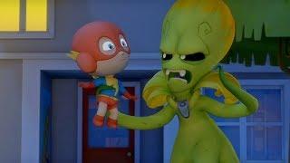 Макс Грин и инопланетяне -Сокровища подземелий  - мультфильм про инопланетян