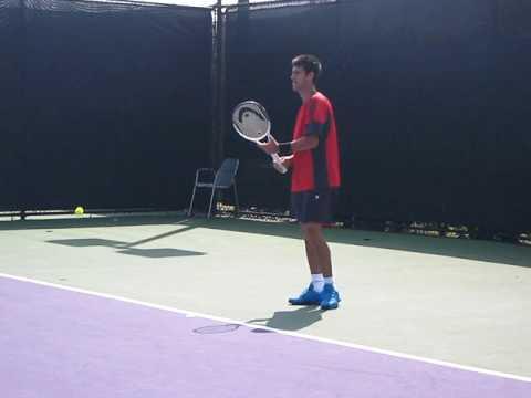 Novak Djokovic Practicing - Sony Ericsson Open - Miami - 2009
