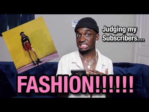 JUDGING MY SUBSCRIBERS FASHION...