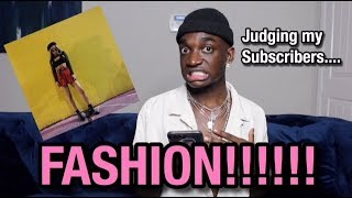 JUDGING MY SUBSCRIBERS FASHION
