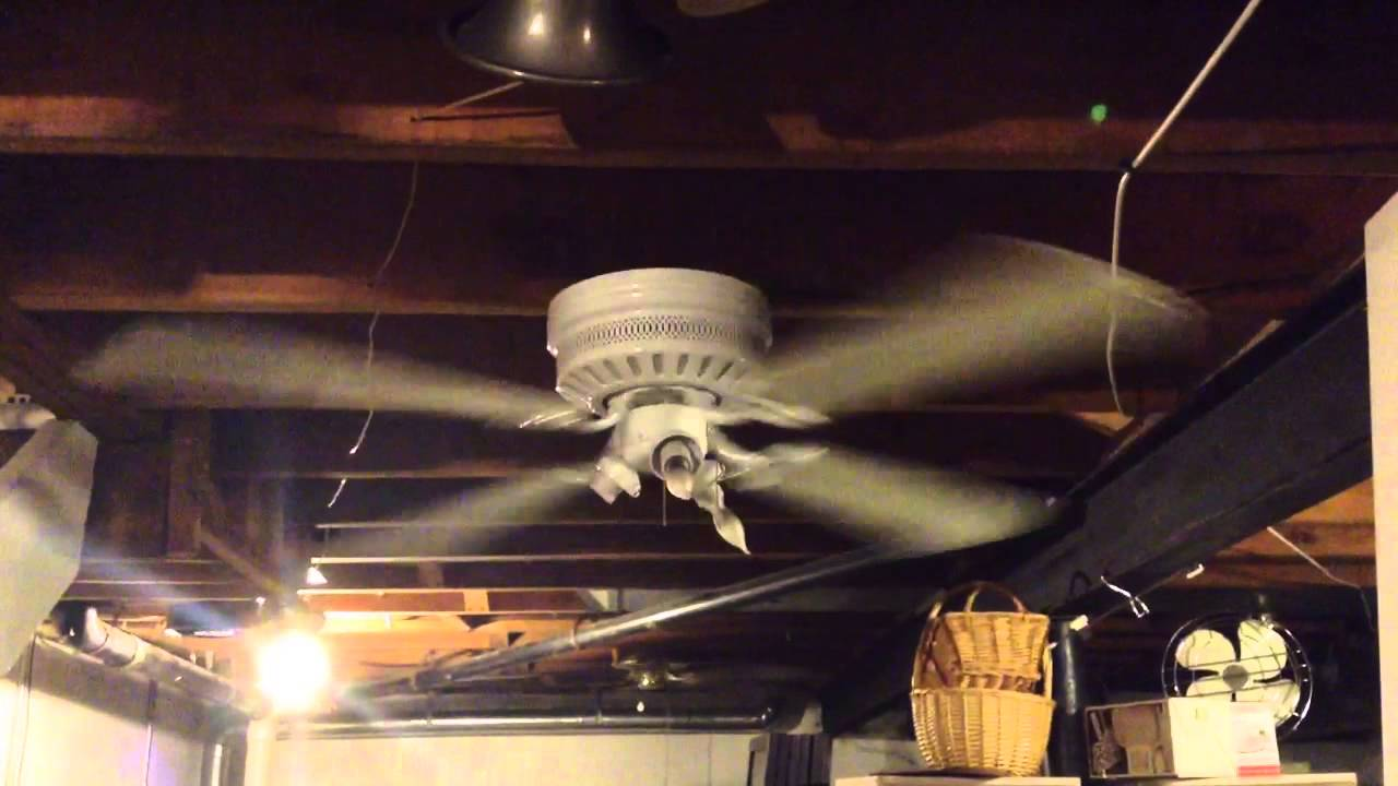 2003 hampton bay chatham 52 ceiling fan youtube aloadofball Choice Image