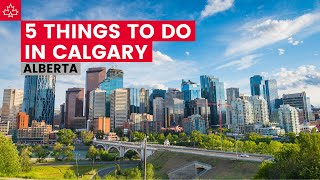 Five Things To Do in Calgary, Alberta