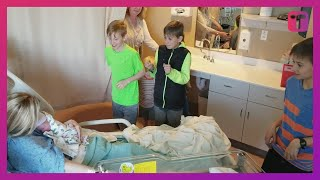 Five Brothers React To Meeting Sister They Dreamed Of