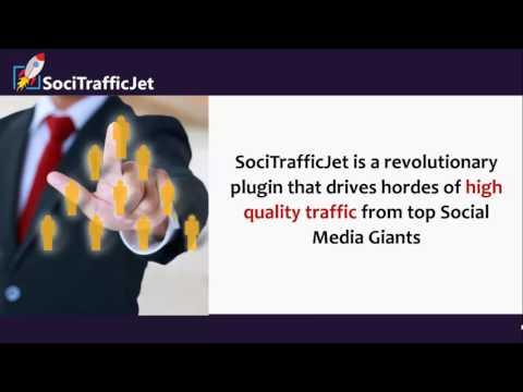 SociTrafficJet FE Demo Video