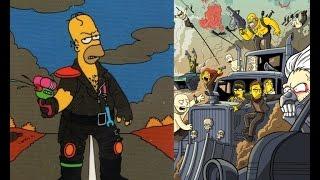 Мэшап - Безумный Макс: Дорога ярости & Симпсоны