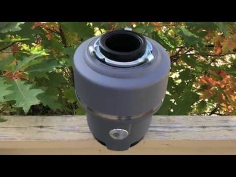 """BEST Garbage Disposal (Insinkerator) """"BEST BANG FOR THE BUCK""""  Full Review"""