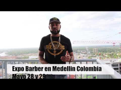 Los invito Mayo 28 y 29 al Expo barber y Junio 11 a mi seminario en Medellin Colombia!!!
