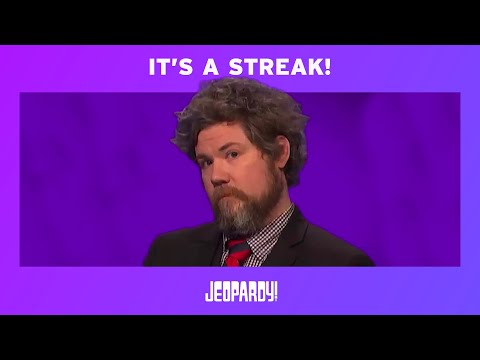 "Austin Rogers is on a ""Jeopardy!"" winning streak."