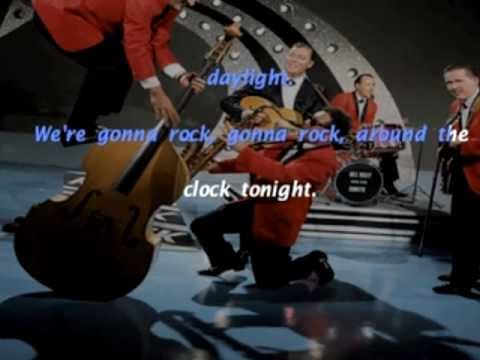 Rock Around The Clock Bill Haley And His Comets Lirycs Testo