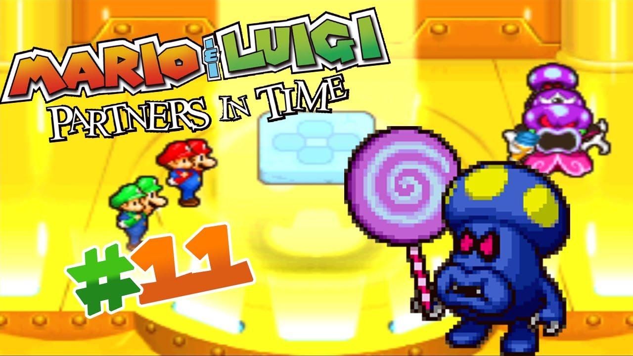 Mario Luigi Partners In Time Ep 11 Boss Shrooboid Brat