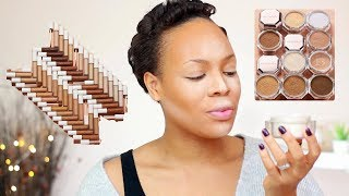 Y'ALL ARE JUST TRIPPING... New FENTY BEAUTY concealers and setting powders REVIEW