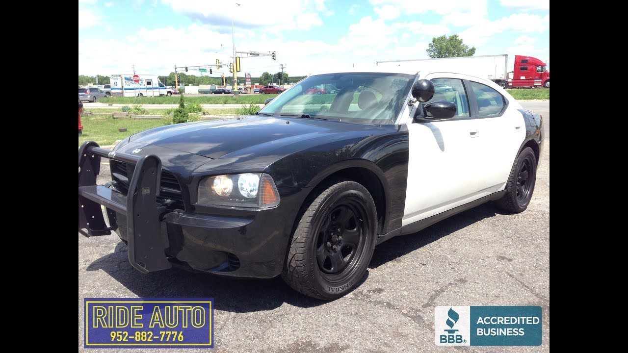 2010 Dodge Charger Police Package Rt R T 5 7 Hemi V8 17210 Youtube