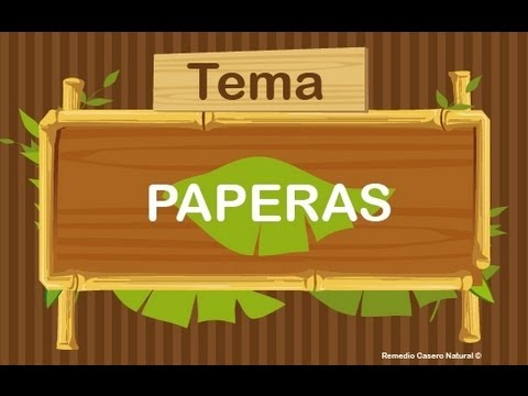 Remedios caseros para las paperas