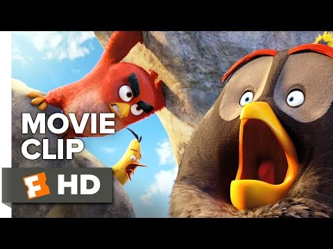 The Angry Birds Movie CLIP - Mighty Eagle Noises (2016) - Jason Sudeikis, Josh Ga Movie HD