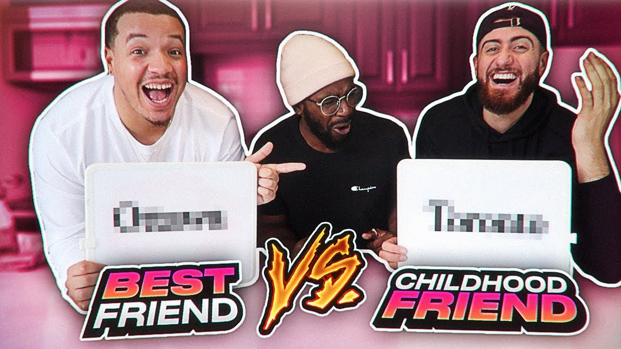 BEST FRIEND VS CHILDHOOD FRIEND CHALLENGE