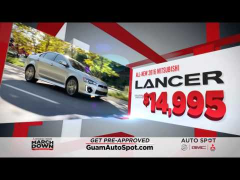 Guam Auto Spot - March Down Sales Event