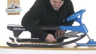 Hamax Sno Blade Twin Tip Sledge - www.simplypiste.com