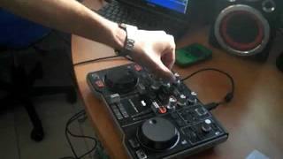 Hercules DJ Control MP3 e2 con Virtual DJ