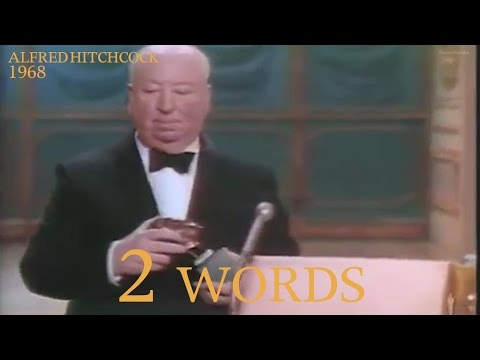 The shortest Oscars acceptance speeches