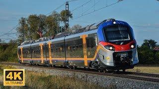 Train Alstom ETR 104.001 Trenitalia Pop VUZ Velim test track Czech Republic 8.9.2018 (4K)
