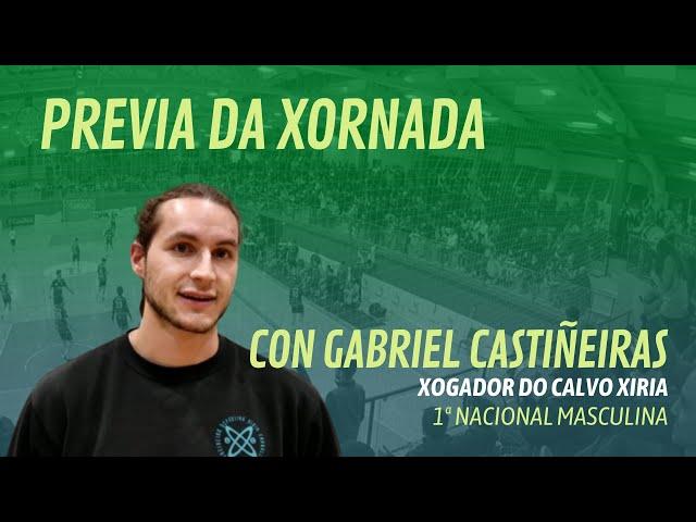 Previa da xornada de 1ª Nacional con Gabriel Castiñeiras