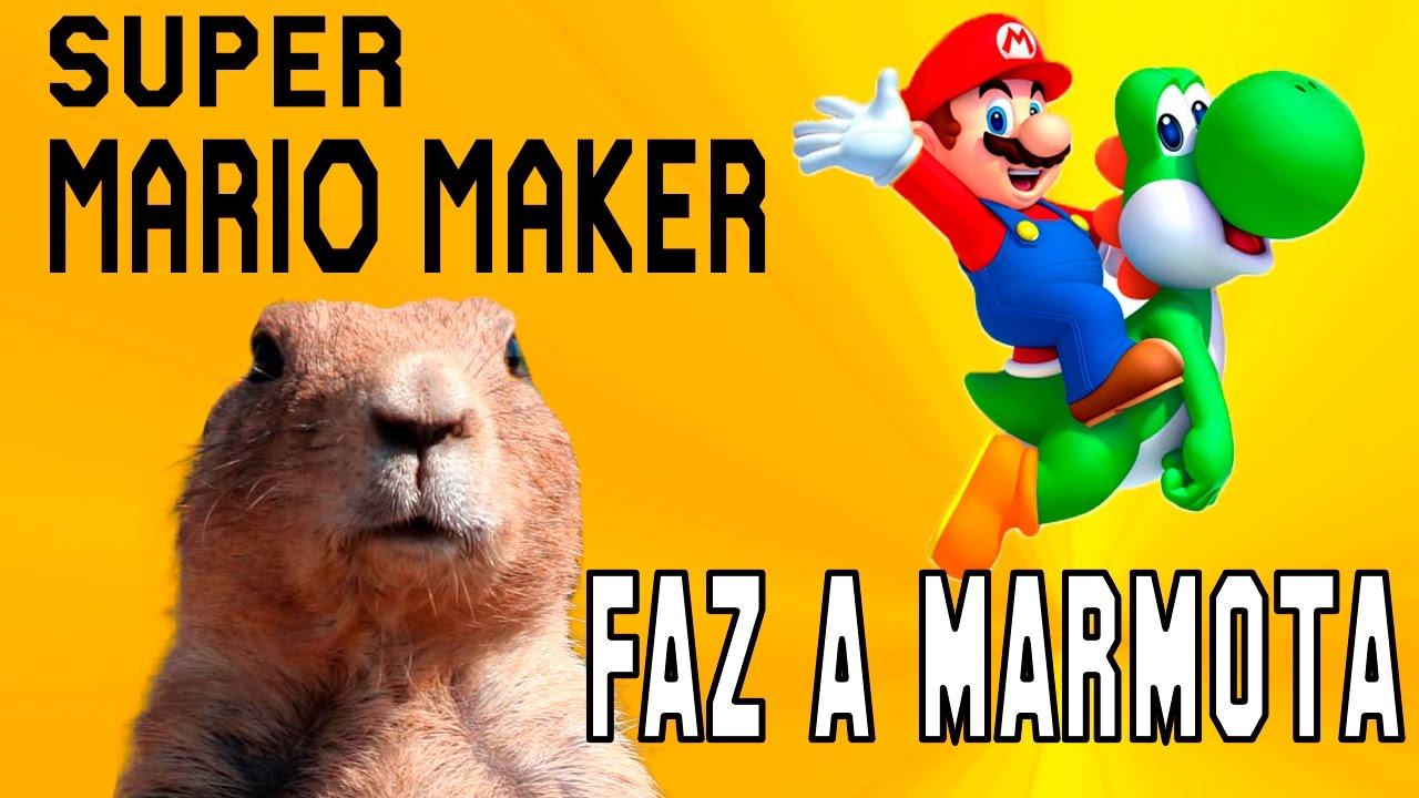 Faz A Marmota - Super Mario Maker - GameVicio