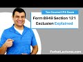 Form 8949 Section 121 Exclusion | Corporate Income Tax | CPA REG | Ch 13 P 6