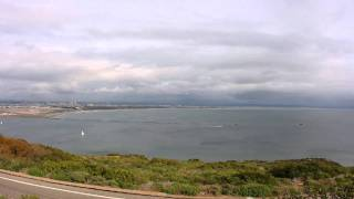 Cabrillo National Monument and Point Loma Lighthouse (old & new ones) Time Lapse