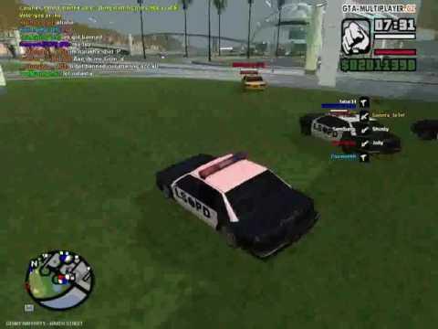 GTA MULTIPLAYER SA | POLICE CHASE