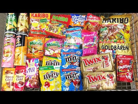 A Lot Of Candy 2018 NEW #82 Чипсы...