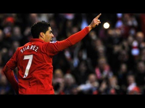 Luis Suarez Top 10 Goals For Liverpool