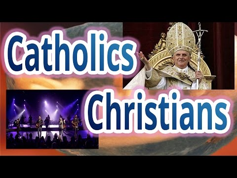 What's the Difference between Catholics and Christians? in 6 minutes