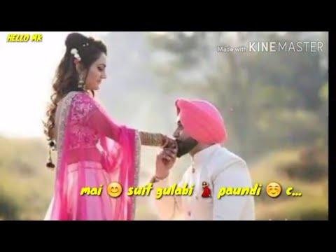 Suit gulabi | Inder chahal | lyrical...
