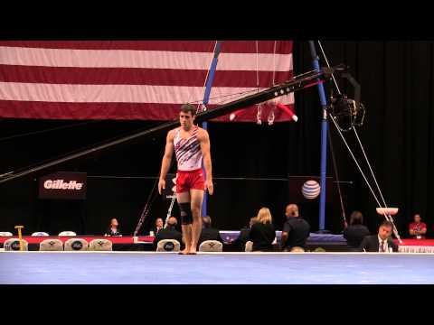 Levi Anderson – Floor Exercise – 2015 P&G Championships – Jr. Men Day 1