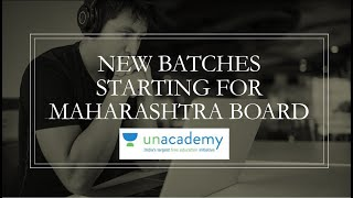 Unacademy Batch Course for MH Board