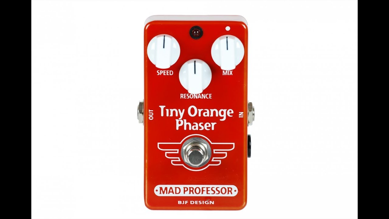 mad professor tiny orange phaser guitar pedal demo by music gear fast youtube. Black Bedroom Furniture Sets. Home Design Ideas