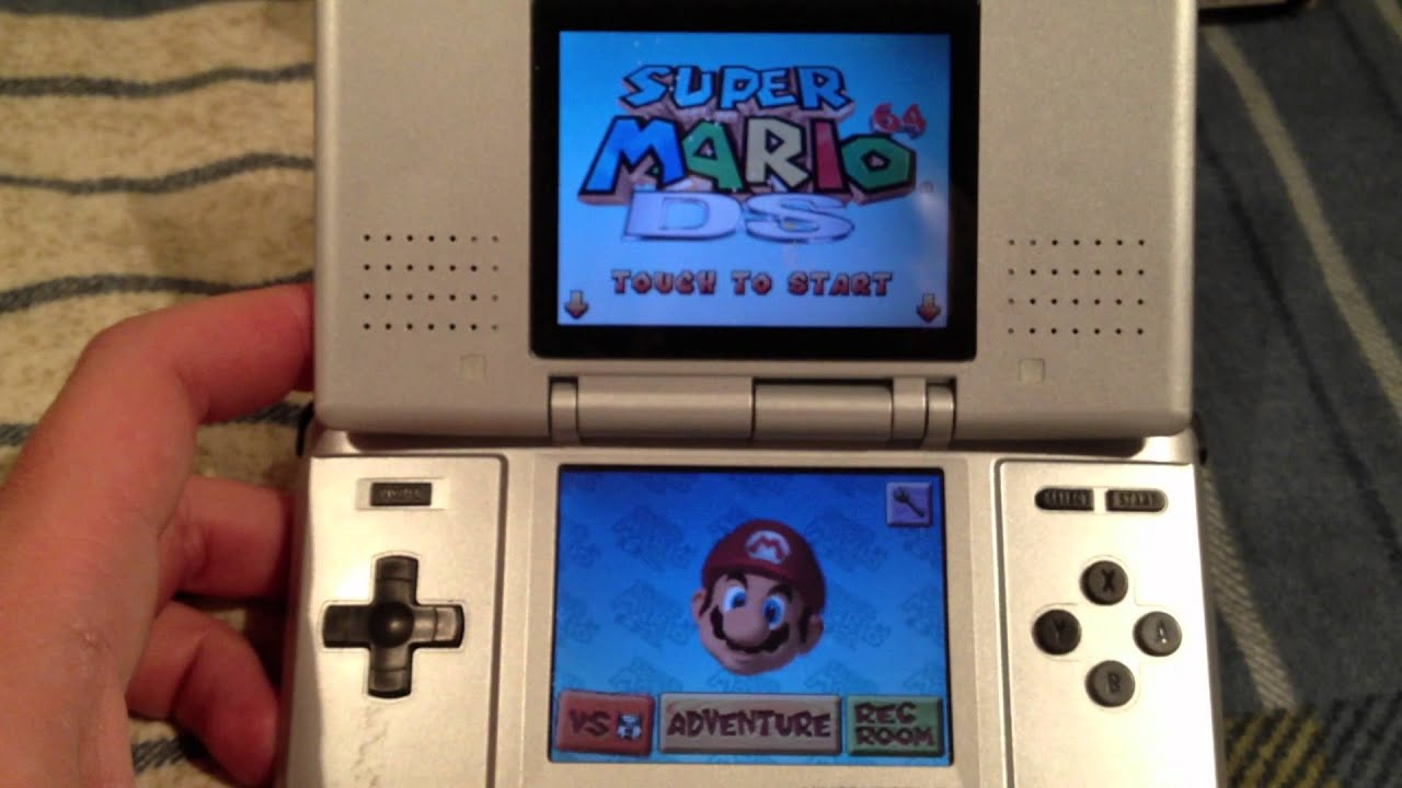 eBay Auction  Nintendo DS \u0026quot;THE Original\u0026quot; Includes 4 Games