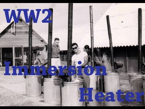 WW2 & Vietnam immersion heater, Field kitchen by Heather and Don
