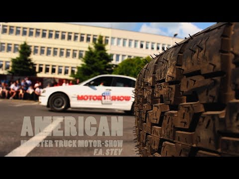 American Monster Truck Motor Show 2017 World of Stunts - Promo Video (BMW drift, FMX and other)