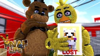 Minecraft FIVE NIGHTS AT FREDDY'S LIFE-CHICA'S AND FREDDY'S BABY GOES MISSING!!!- Baby Leah