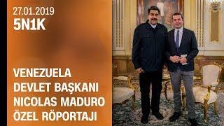 CNN TÜRK özel röportaj: Nicolas Maduro Cüneyt Özdemir'e konuştu - 5N1K 27.01.2019 Pazar