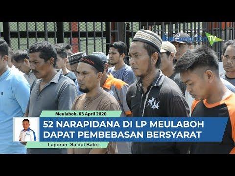 Puluhan Narapidana Di LP Meulaboh Aceh Barat Dapat Pembebasan Bersyarat